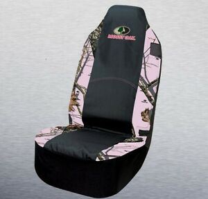 Mossy Oak Pink Camo 2 Seat Cover Universal Fit Car Auto Truck Camouflage Pair