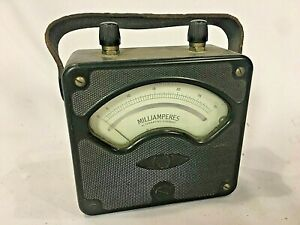 Vintage Westinghouse 936862 Milliamperes Meter For Measurement