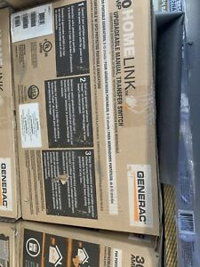 Generac Goo6852130 amp Homelink Upgradeable Pre wired Manual Transfer Switch New