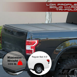 For 2014 2020 Toyota Tundra 6 5 Bed Low Profile Hard Tri Fold Abs Tonneau Cover