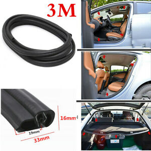 3m Car Door Edge Rubber Seal Protector Strip For Interior Exterior Accessories