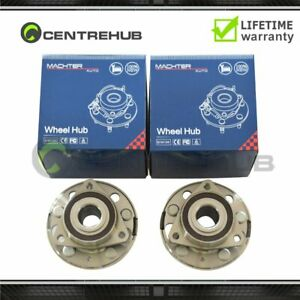 Wheel Hub Bearing Assembly Pair Set Of 2 For Buick Chevy Gmc Saab New