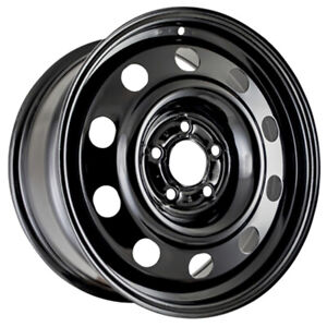 New Replacement 17 Black Steel Wheel Rim For 2006 2011 Ford Crown Victoria