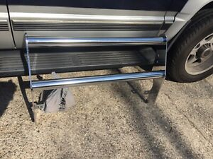 New Go Industries 98 00 Ford Ranger Grill Guard Push Bar Chrome W light Mounts