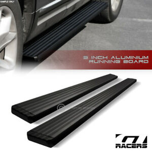 For 2010 2017 Chevy Equinox 5 Matte Black Aluminum Side Step Running Boards I4