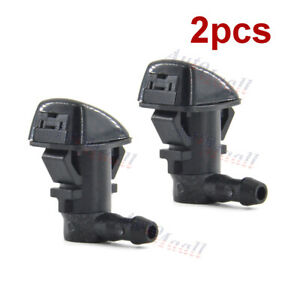 2pc Windshield Washer Nozzle For Chrysler 300 Dodge Challenger Charger 5182327aa