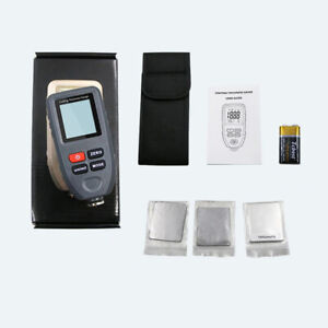 Ct 100 Lcd Digital Auto Paint Coating Thickness Gauge Tester Measuring Meter