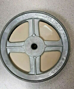 Chicago Die Cast Single V Groove Pulley A Belt 6 Od X 1 2 Bore 600a6 Nos