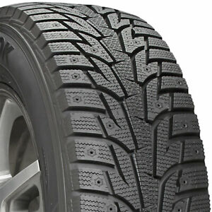 2 New 215 55 17 Hankook I Pike Rs W419 Winter snow 55r R17 Tires