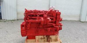 2011 Cummins Isx15 258k 485hp Engine Assembly Complete Free Ship
