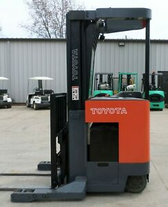 Toyota Model 6bru18 2000 3500 Lbs Capacity Great Reach Electric Forklift