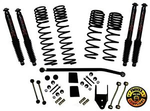 Suspension Lift Kit long Travel Series With Shocks Fits 18 19 Jeep Wrangler