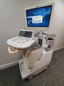Philips Ie33 Ultrasound Machine Rev E 1 With x5 1 Transducer Probe