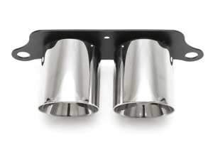 Fabspeed Porsche 997 Gt3 Polished Stainless Steel Dual Style Tips 2006 2009