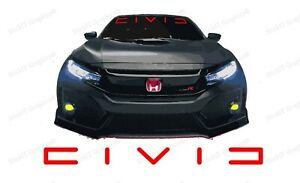 Honda Civic Windshield Banner Decal Emblem Logo