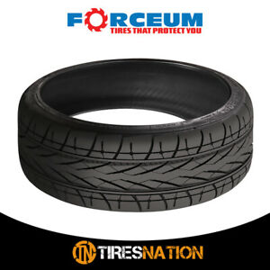 1 New Forceum Hexa R 205 45r18 90yr Ultra High Performance Tires