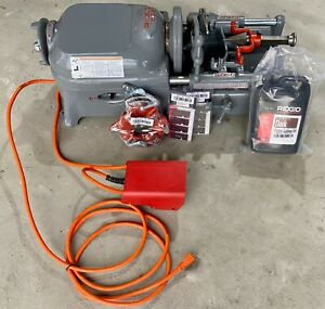 Manufacturer Refurbished Ridgid 535 V1 Pipe Threading Machine 811 Die Head Dies