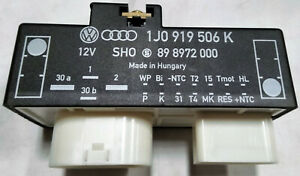 Vw Audi Fcu Radiator Fan Control Unit Relay 1j0 919 506k 1j0919506k Oemq