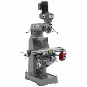 Jet 690174 Jvm 836 3 Mill With X axis Powerfeed