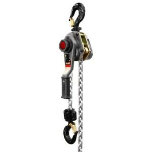 Jet 376402 Jlh Series 2 1 2 Ton Lever Hoist 15 Lift With Overload Protection