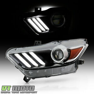 2015 2017 Ford Mustang Hid xenon Led Tube Projector Headlight Headlamp Driver