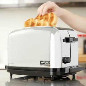 Waring 2 Slice Commercial Toaster Nsf 120v 950w
