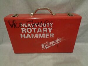 Milwaukee Heavy Duty Rotary Hammer Drill Metal Case Only no Drill