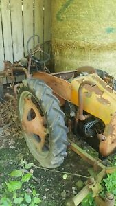 G Series Allis Chalmers Cultivator Tractor
