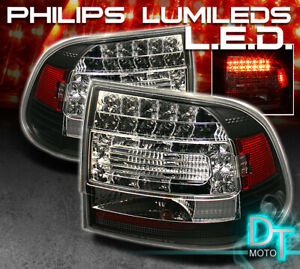 Black 2003 2007 Porsche Cayenne Lumileds Led Tail Lights Brake Lamps Left right