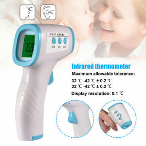 Non contact Infrared Forehead Thermometer Body Temperature Hot Sale