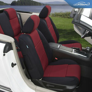 Premium Neosupreme Tailored Front Seat Covers For Ford Mustang Made To Order