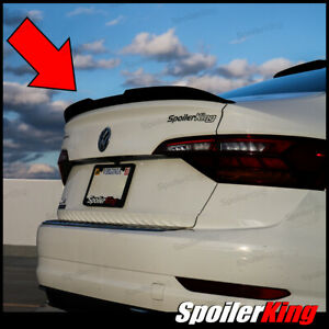 Spoilerking Rear Duckbill Spoiler W Center Cut Fits Vw Jetta Mk7 2019 On 284gc