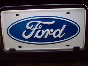 2007 2008 2009 2010 2011 2012 2013 Ford Explorer Ford Logo Front License Plate