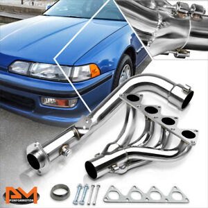 For 92 93 Acura Integra 1 8 Rs Ls Gs B16 18 Stainless Steel 4 1 Exhaust Header