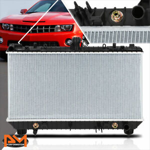Aluminum Oe Style Cooling Radiator For 10 11 Chevy Camaro 6 2l Ss At Dpi 13142