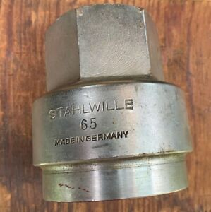 Stahlwille 65mm Socket 1 Drive German Made Tool Heavy Machinery Big Rig