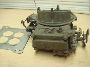 C1978 Used Holley 4 Barrel Carburator Mostly Complete Fix Parts Deal