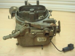 C70s Used Holley 2 Barrel Carburator Mostly Complete Fix Parts Deal