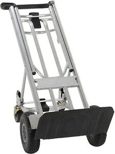 Moving Equipment Hand Truck Dolly Furniture Cart 1000lb Appliance 2 4 Wheel 4in1