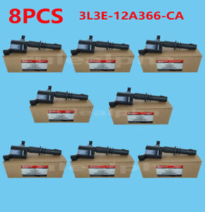8pcs Ignition Coil For Ford Expedition Explorer Motorcraft F 150 3l3e 12a366 Ca