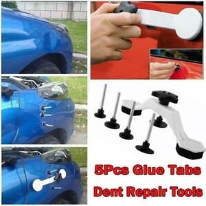 Car Auto Body Paintless Dent Repair Tools Kit Puller Glue Pulling Tabs Set