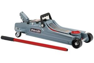 Low Profile 2 Ton Floor Jack 2 Ton Capacity Pro Lift Garage Shop