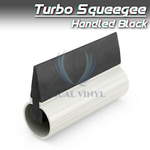 Window Tint Black Turbo Squeegee 4 W Handle Car Auto Tinting Film Tool Kit