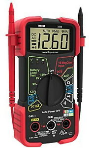Digital Multimeter Auto Range Voltmeter Tester Automotive Capacitance Meter Amp