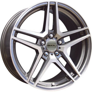 4 18x8 Gray Wheel Rtx Oe Replica Stern Mercedes Replica 5x112 42