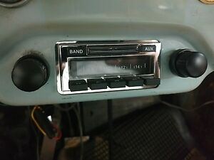 New 356 Porsche Am Fm Stereo Radio W aux Input For Ipod Iphone Mp3