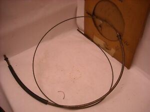 Mopar Nos 1963 1964 Chrysler 300 New Yorker Dodge Front Parking Brake Cable