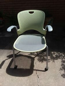 Herman Miller Wc420p Caper Stacking Chair With Flexnet Seat