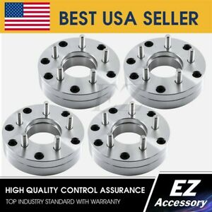 4 Wheel Adapters 6x5 To 5x5 Chevy 5 Lug Silverado Wheels On Trailblazer 2