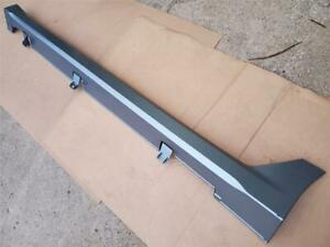 09 11 Driver Left Side Skirt Under Body Ground Effects Acura Tl Borealis Blue